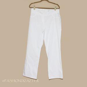Westbound Woman Stretch White Pants Size 18W